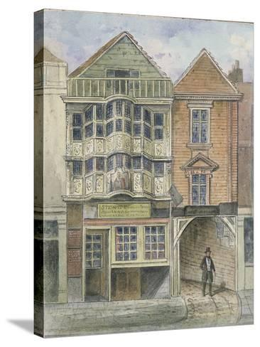 Paul Pindar's House, Bishopsgate--Stretched Canvas Print