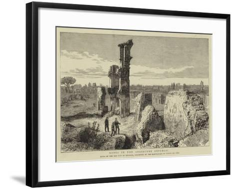 Notes in the Argentine Republic--Framed Art Print
