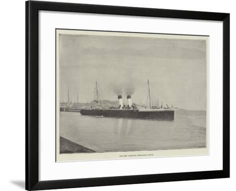 The New Channel Steam-Boat Seine--Framed Art Print
