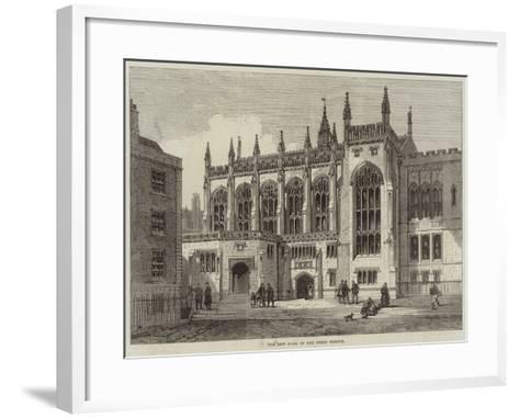 The New Hall of the Inner Temple--Framed Art Print