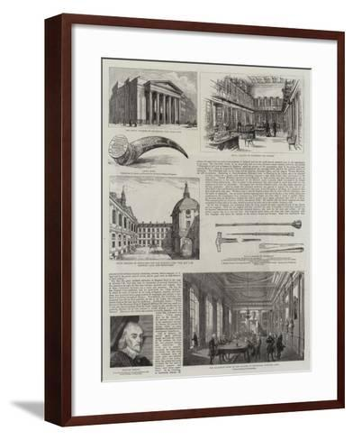 Medicine and Surgery in England--Framed Art Print