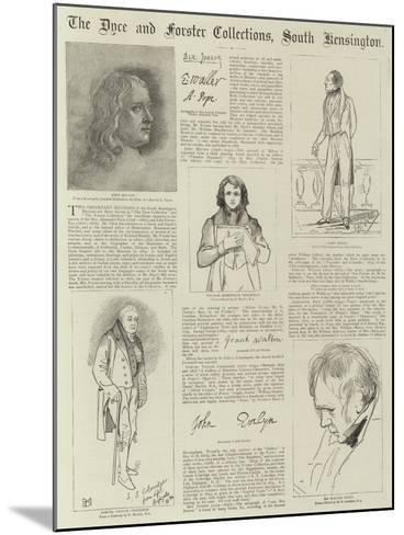 The Dyce and Forster Collections--Mounted Giclee Print