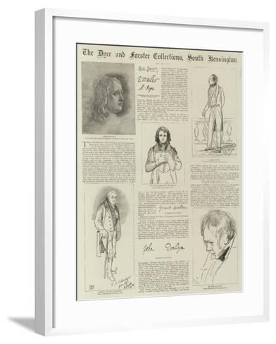 The Dyce and Forster Collections--Framed Art Print
