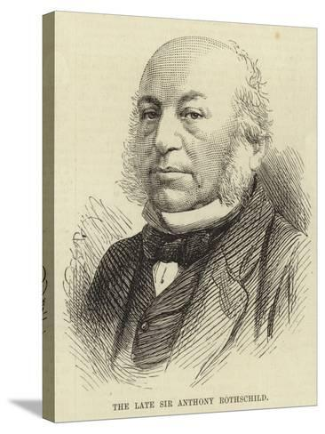 The Late Sir Anthony Rothschild--Stretched Canvas Print