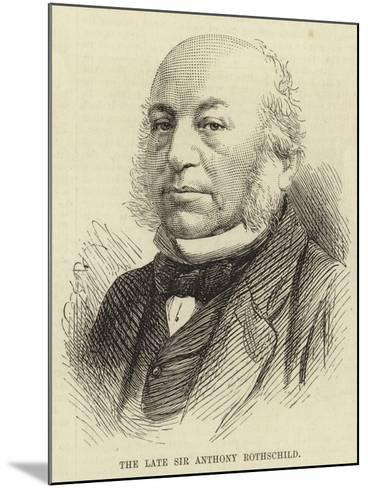The Late Sir Anthony Rothschild--Mounted Giclee Print
