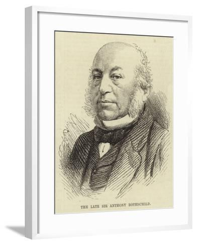 The Late Sir Anthony Rothschild--Framed Art Print