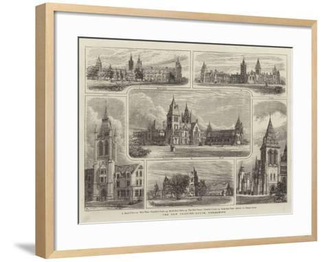 The New Charter-House, Godalming--Framed Art Print