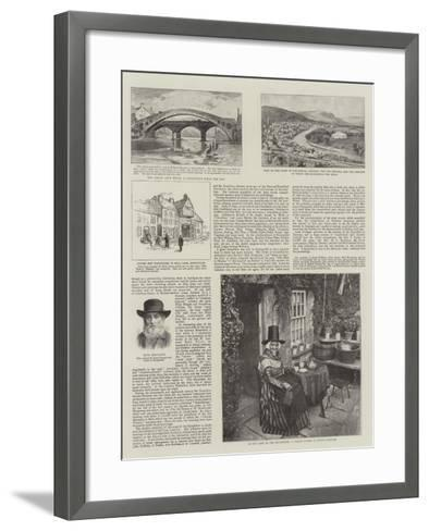 The National Eisteddfod of Wales--Framed Art Print