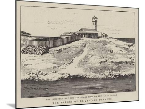 The Prison of Ex-Captain Dreyfus--Mounted Giclee Print