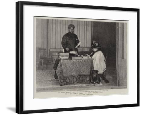 The Queen's Life in the Highlands--Framed Art Print