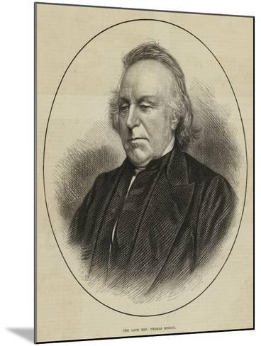 The Late Reverend Thomas Binney--Mounted Giclee Print