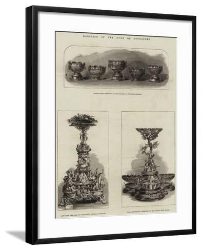 Marriage of the Duke of Connaught--Framed Art Print