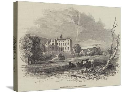 Abberley Hall, Worcestershire--Stretched Canvas Print