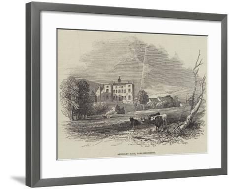 Abberley Hall, Worcestershire--Framed Art Print
