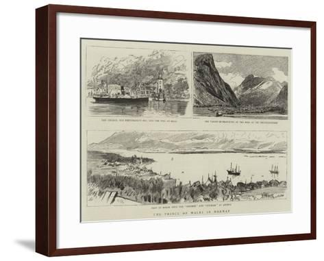 The Prince of Wales in Norway--Framed Art Print