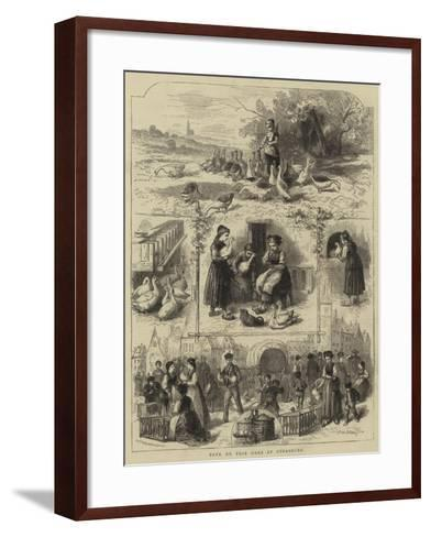 Pate De Foie Gras at Strasburg--Framed Art Print