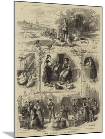 Pate De Foie Gras at Strasburg--Mounted Giclee Print