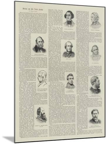 Dickens and His Artist Friends--Mounted Giclee Print