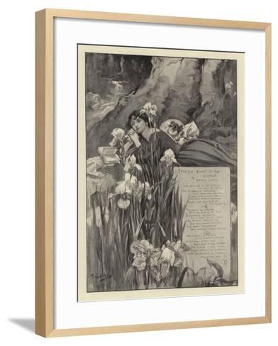From the Court to the Cottage--Framed Art Print