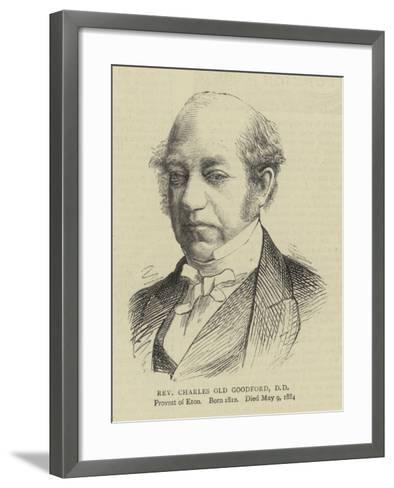 Reverend Charles Old Goodford--Framed Art Print