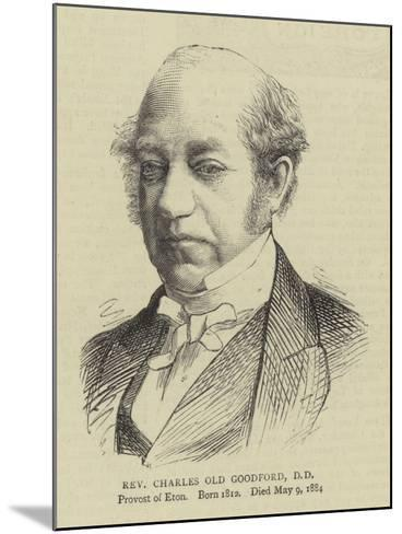 Reverend Charles Old Goodford--Mounted Giclee Print