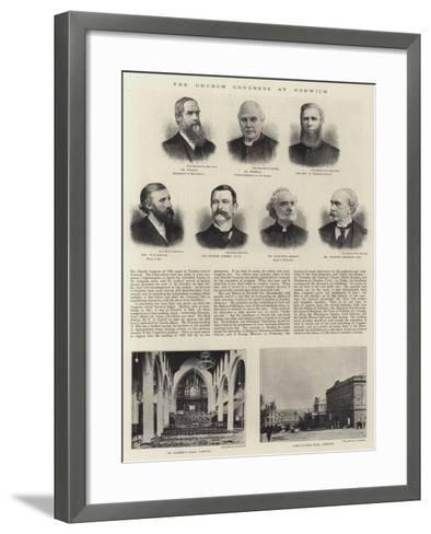 The Church Congress at Norwich--Framed Art Print