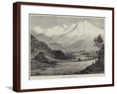 Valley of the Aconcagua, Chili--Framed Art Print