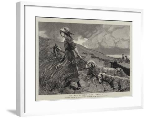 In the Sandhills of Jutland--Framed Art Print
