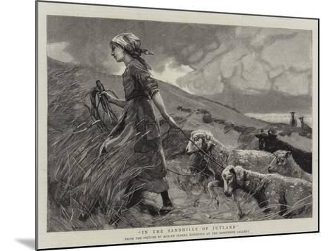 In the Sandhills of Jutland--Mounted Giclee Print