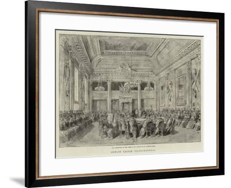 Dublin Castle Illustrated, I--Framed Art Print