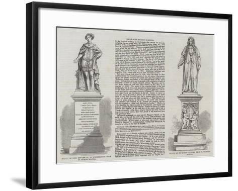 Relics of St Thomas's Hospital--Framed Art Print