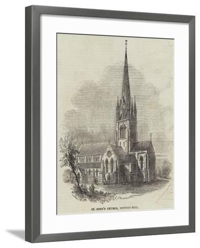 St John's Church, Notting Hill--Framed Art Print