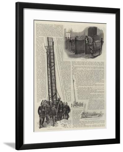 The Metropolitan Fire Brigade--Framed Art Print