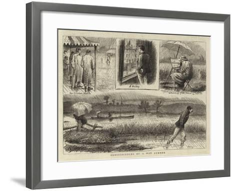 Reminiscences of a Wet Summer--Framed Art Print