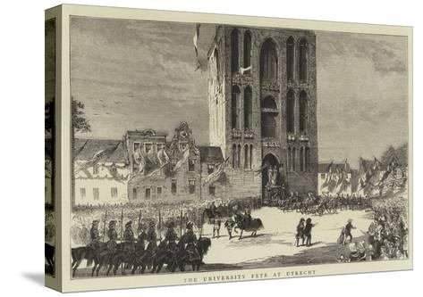 The University Fete at Utrecht--Stretched Canvas Print