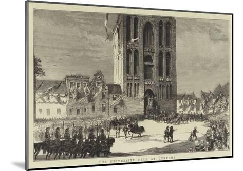 The University Fete at Utrecht--Mounted Giclee Print