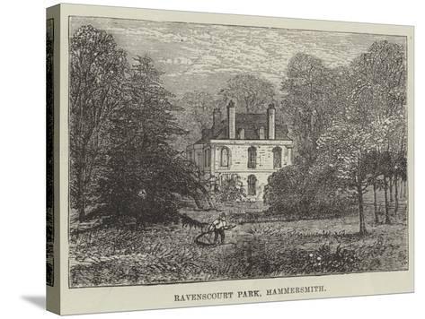 Ravenscourt Park, Hammersmith--Stretched Canvas Print