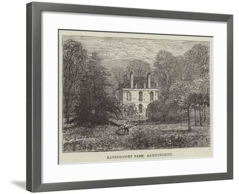 Ravenscourt Park, Hammersmith--Framed Art Print