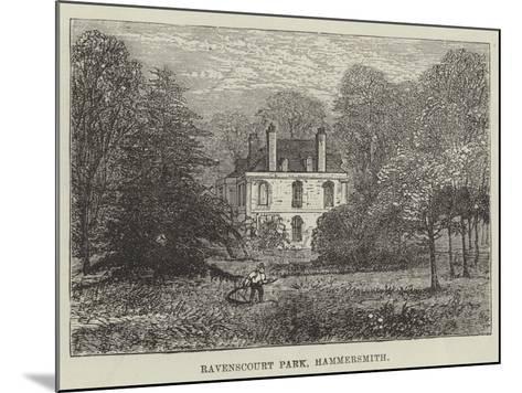 Ravenscourt Park, Hammersmith--Mounted Giclee Print