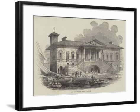 The New Custom House, Ipswich--Framed Art Print