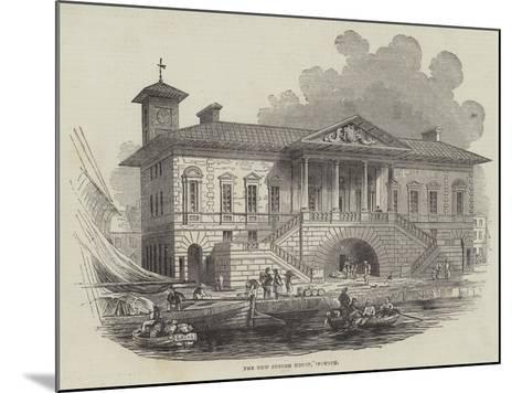The New Custom House, Ipswich--Mounted Giclee Print