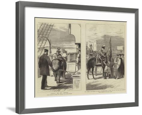 The Prince of Wales at Malta--Framed Art Print