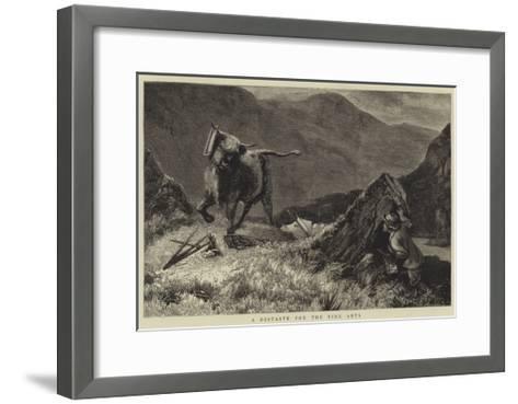 A Distaste for the Fine Arts--Framed Art Print