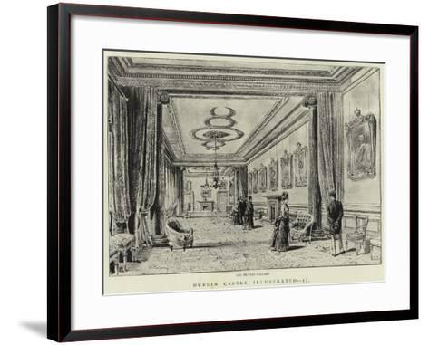 Dublin Castle Illustrated, II--Framed Art Print