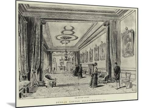 Dublin Castle Illustrated, II--Mounted Giclee Print