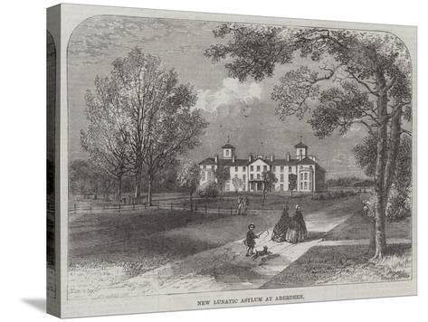 New Lunatic Asylum at Aberdeen--Stretched Canvas Print