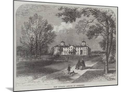 New Lunatic Asylum at Aberdeen--Mounted Giclee Print