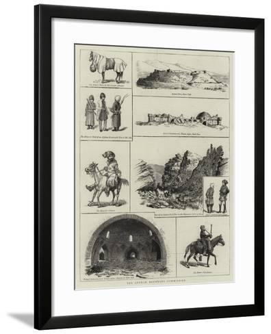 The Afghan Boundary Commission--Framed Art Print