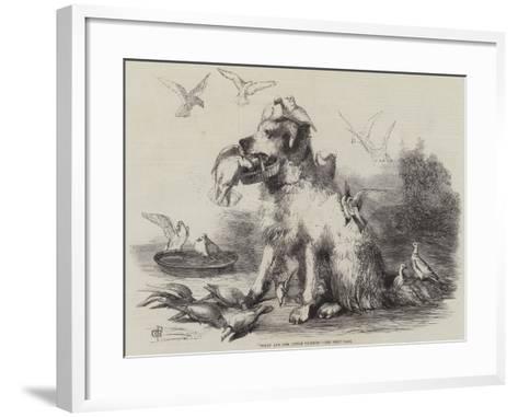 Folly and Her Little Friends--Framed Art Print
