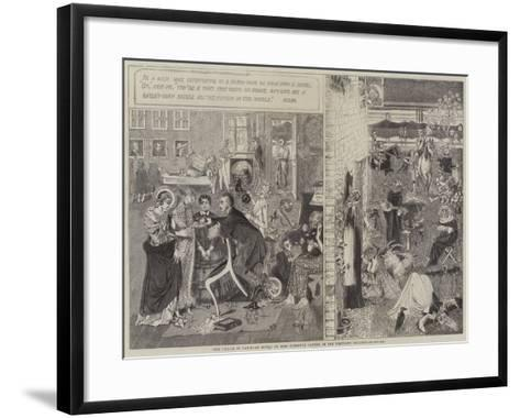 The Choice of Paris, an Idyll--Framed Art Print